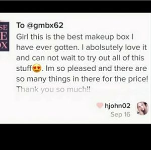 Sephora Makeup - NWT MAKEUP/BEAUTY MYSTERY BOX